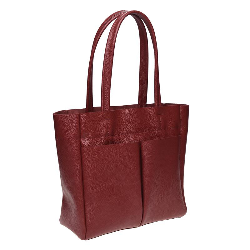 Кожаная сумка, 2 цвета.