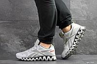 Мужские кроссовки Reebok Zignano,сетка,серые, фото 1