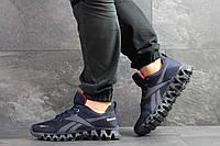 Мужские кроссовки Reebok Zignano,сетка,темно синие, фото 1