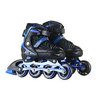 Роликовые коньки RIAS 500 с подсветкой (2_008624)