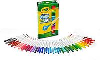 Набор Крайола смывающиеся фломастеры 50 штук Crayola 50 Super Tips Washable Markers