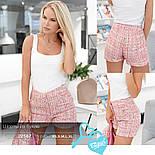 Ділові шорти букле яскраво-рожеві, фото 5