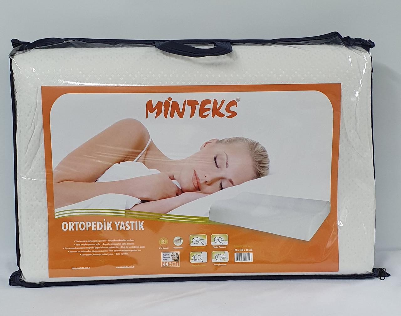 Подушка Ортопедична Minteks Visco Elastic standart 60*40
