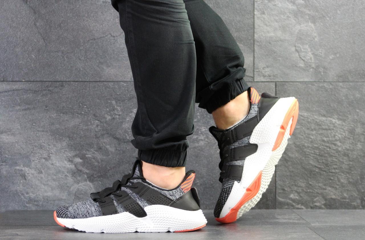 Кроссовки мужские Adidas,текстиль,серые