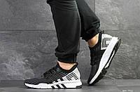 Кроссовки мужские Adidas Equipment adv 91/18,черные с серым, фото 1