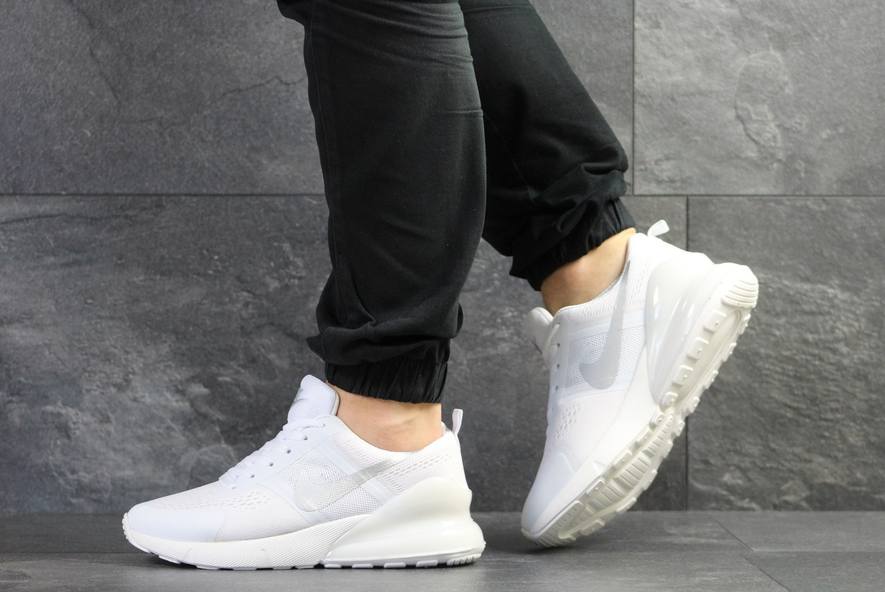 Мужские летние кроссовки Nike,белые,сетка 46р