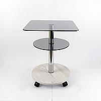 Стол из стекла журнальный Bravo Light 400 с доставкой по Украине. Мебель из стекла от производителя