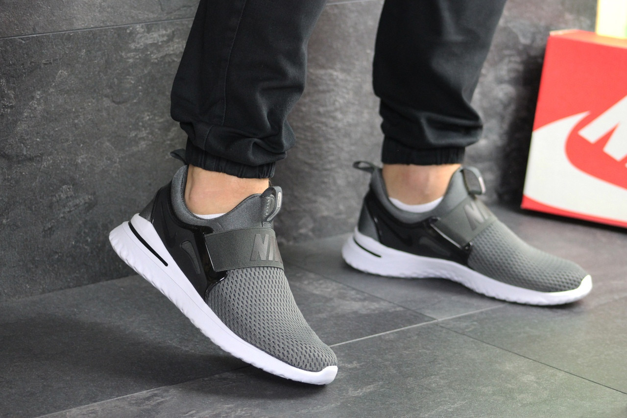 Мужские кроссовки Nike Renew Rival,серые 41,44,46р