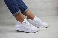 Женские белые кроссовки Nike Air Huarache,летние,сетка, фото 1