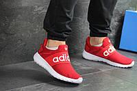 Мужские летние кроссовки Adidas,красные,сетка, фото 1