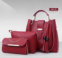 Стильная маленькая женская сумка. Модель 467, фото 5
