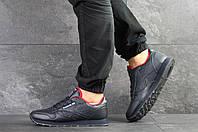 Мужские кожаные кроссовки Reebok,темно синие 44,46р, фото 1