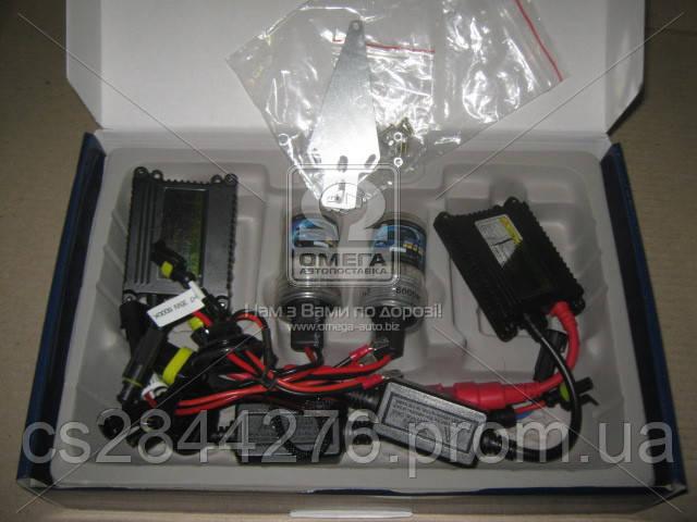 Ксенон HID H7 35W 12v 6000К DC комплект(2 hid+2 блока) HID 6000К DC 35W 12v