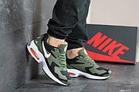 Кроссовки мужские Nike Air Max 2,темно зеленые с черным, фото 1