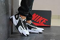 Мужские демисезонные кроссовки Nike Zoom 2K,черно-белые, фото 1
