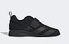 Штангетки Adidas Adipower 2 мужские черные, обувь для тяжелой атлетики и пауэрлифтинга