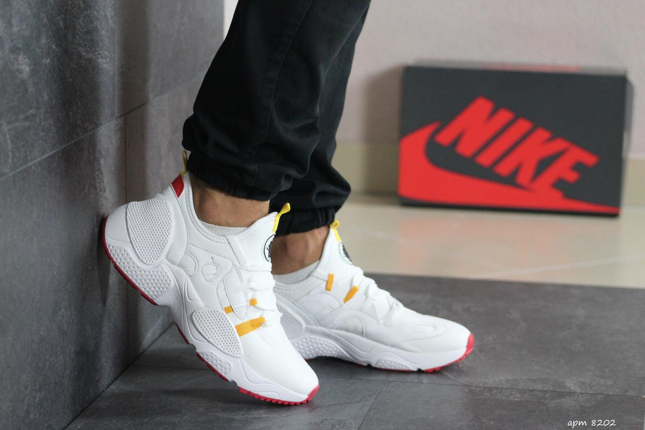 Мужские текстильные кроссовки Nike Air Huarache,белые