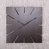 Деревянные настенные часы DABO Sun Dark Wenge