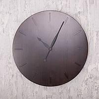 Деревянные настенные часы DABO Classic Ø60 Dark