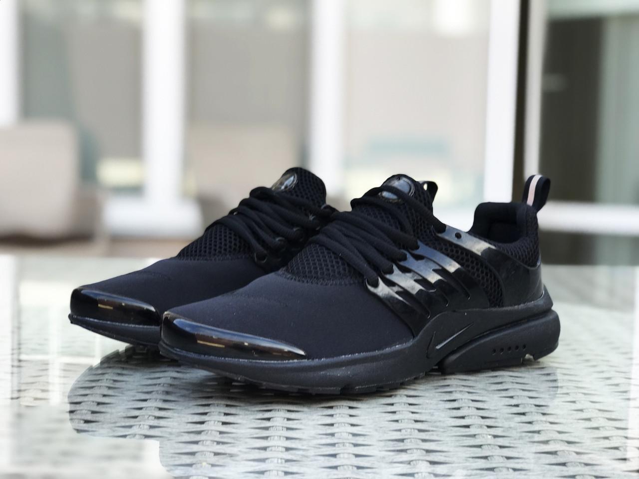 Кроссовки мужские Nike Air presto,черные,текстильные