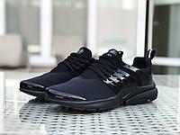 Кроссовки мужские Nike Air presto,черные,текстильные, фото 1