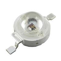 Сверхъяркий светодиод LED emitter 3W UV Purple 390-400NM, фото 1