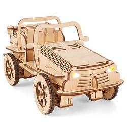 Сделай сам: деревянные 3д конструкторы