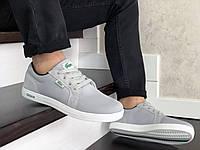 Мужские кроссовки,кеды Lacoste,текстиль,серые, фото 1