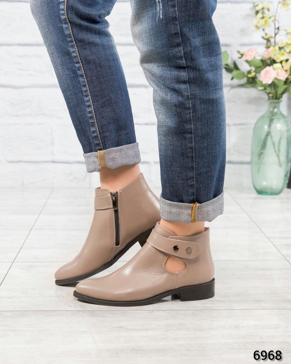 Весенние ботинки Цвет: латте. Размер 37 40