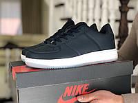 Мужские кроссовки Nike Air Force,темно синие, фото 1