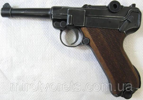 Пистолет ME Luger P-08 9 мм стартовый