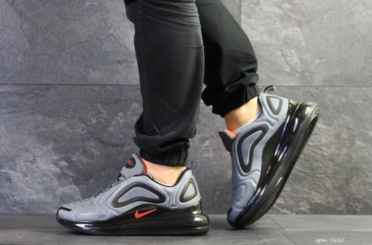 Мужские кроссовки Nike air max 720,текстиль,серые