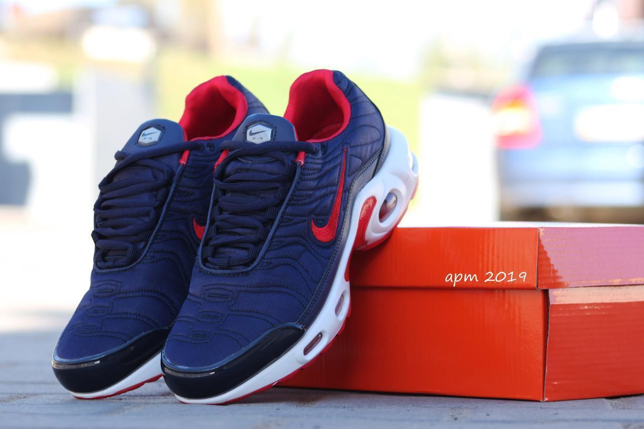 Кроссовки Nike air max 95 синие с красным,текстиль 38р