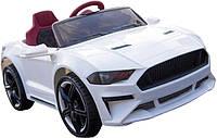 Детский легковой электромобиль TILLY Ford Mustang, белый цвет
