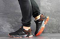 Кроссовки Adidas Marathon,сетка,черные, фото 1