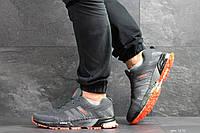 Кроссовки Adidas Marathon,сетка,серые, фото 1