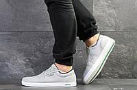 Мужские кроссовки Lacoste,текстиль, светло серые, фото 1