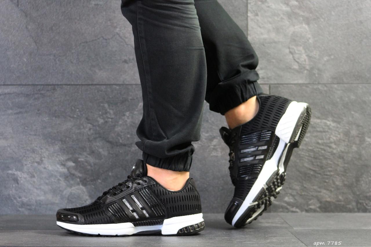Кроссовки мужские Adidas Clima Cool, сетка,черно-белые