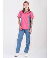 Женский  костюм для медицинского персонала  коттон много цветов  42р-56р Супер качество!