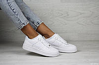 Женские кроссовки Nike Air Force,белые, фото 1