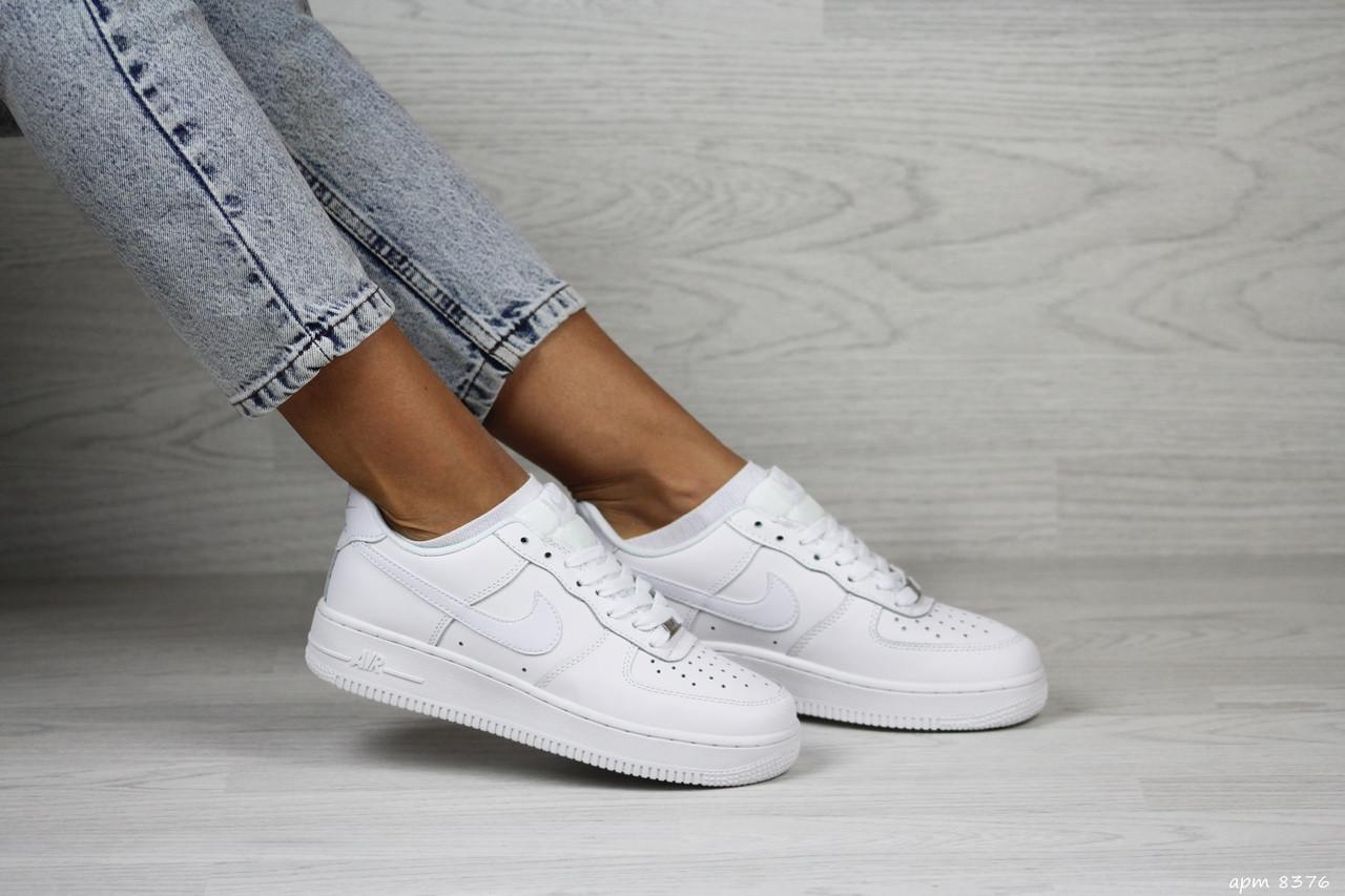 Женские кроссовки Nike Air Force,белые