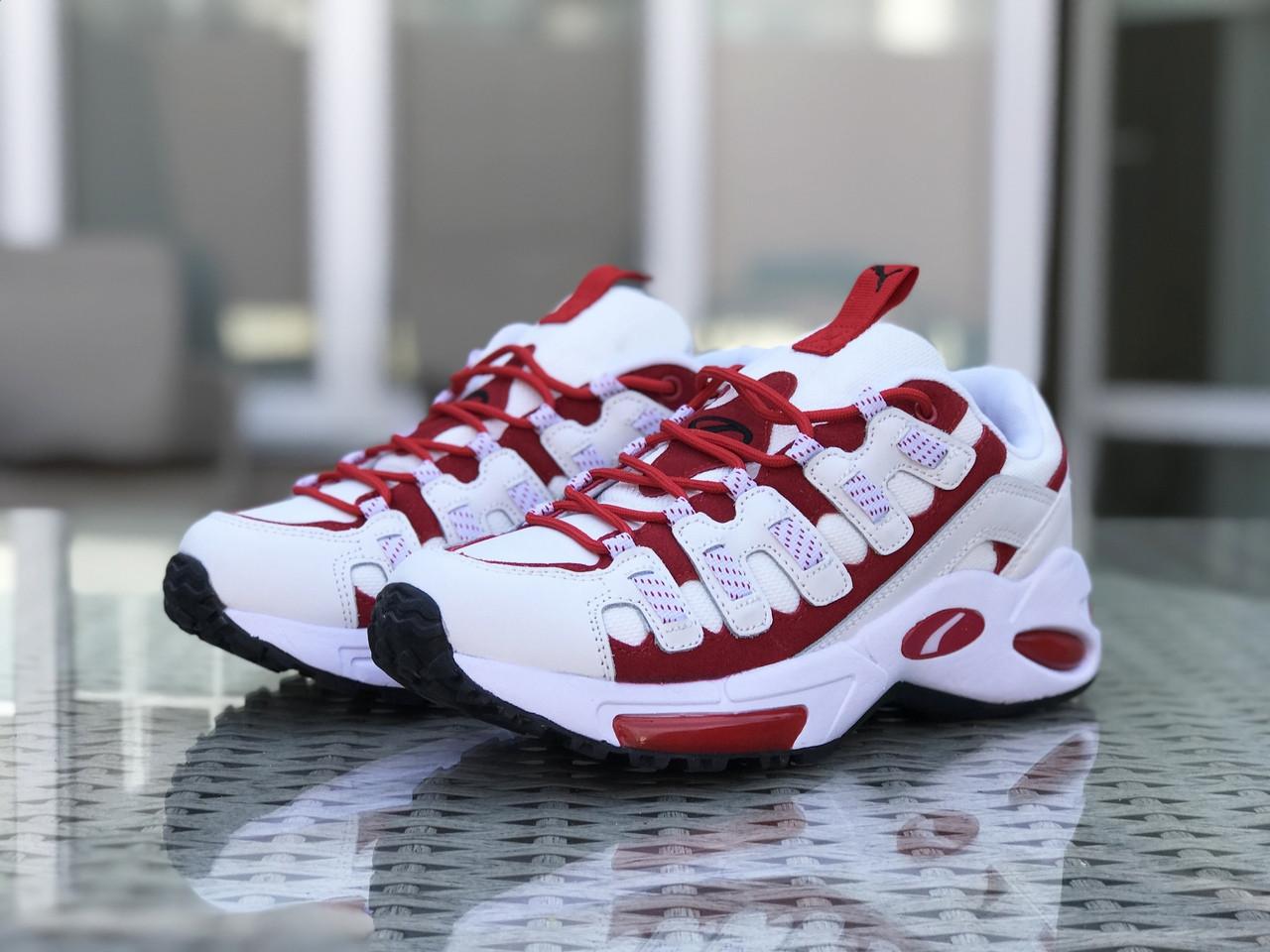 Кроссовки мужские Puma CELL Endura, белые с красным