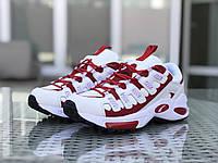 Кроссовки мужские Puma CELL Endura, белые с красным, фото 1