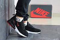 Мужские замшевые кроссовки Nike Air Max 720,черно-белые 44р, фото 1