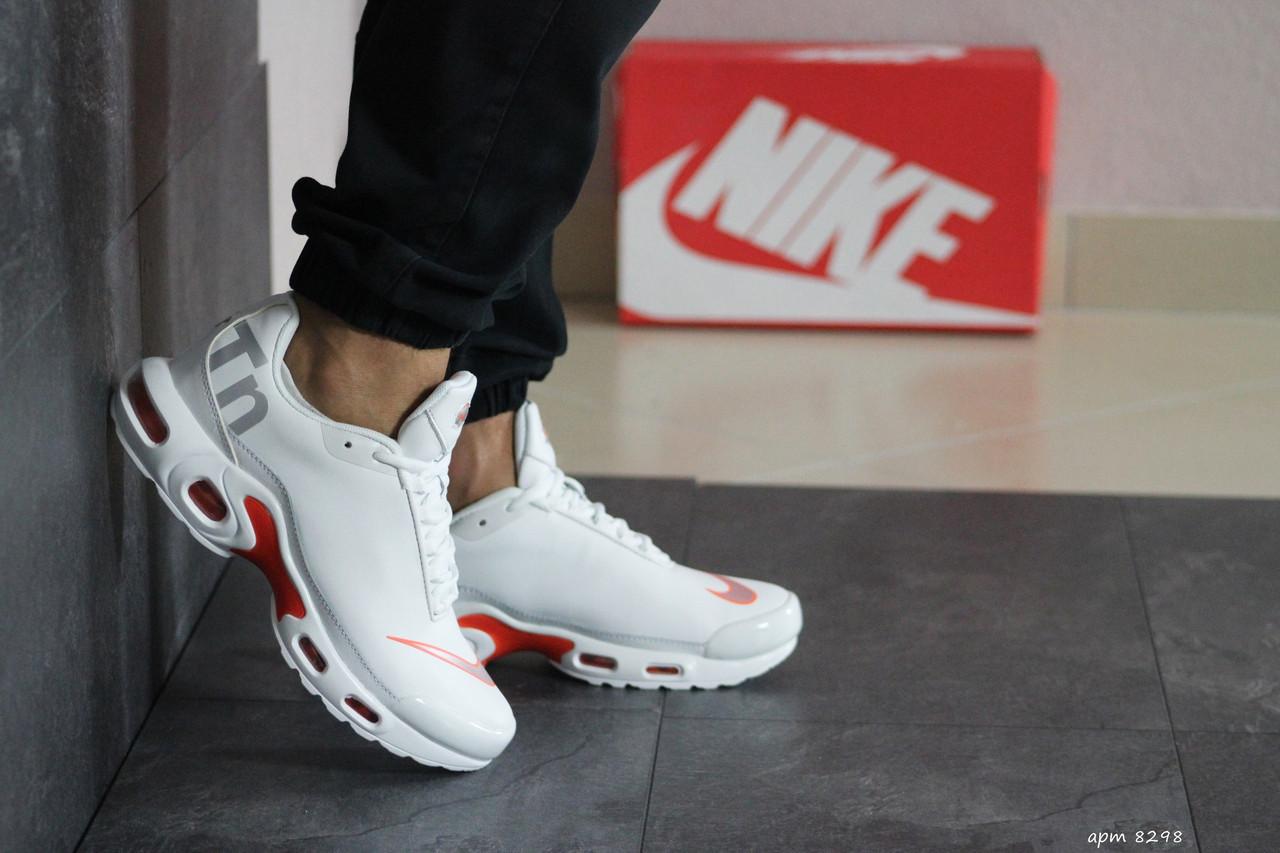 Мужские кроссовки Nike air max TN,белые