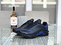 Мужские кроссовки Nike air max TN,темно синие с синим, фото 1