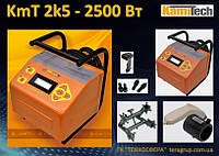 Сварочный аппарат ручной KmT 2k5/2500 Вт для электромуфт до Ø 250 мм.,  Kamitech