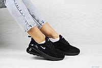 Замшевые женские кроссовки Nike Air Max 270,черные,41р, фото 1