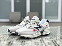 Мужские кроссовки New Balance 574 замшевые,бежевые, фото 1