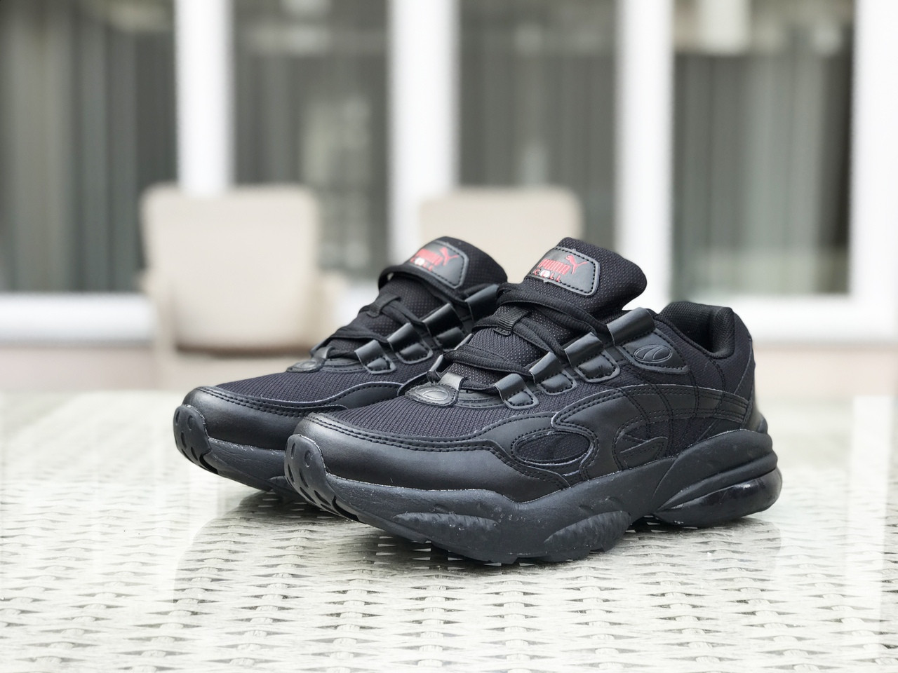 Осенние мужские кроссовки Puma Cell Venom,черные